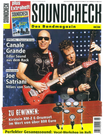 soundcheck magazine